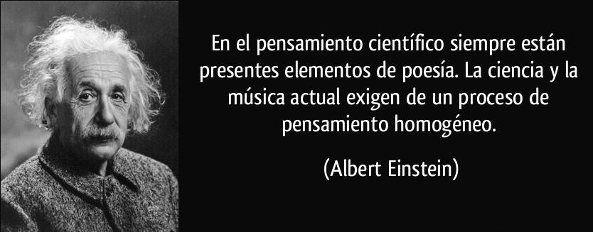Einstein Poesía