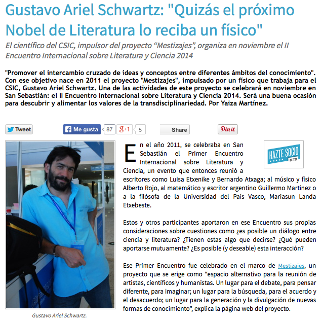 Entrevista Tendencias21